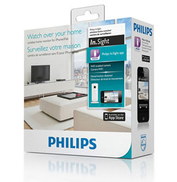 камера philips in.sight wireless home monitor